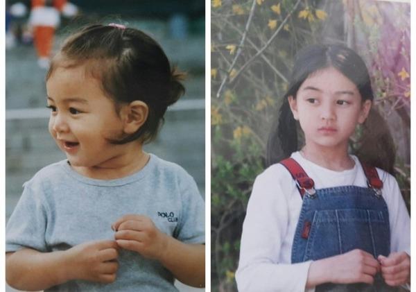 TWICEの子供時代の写真