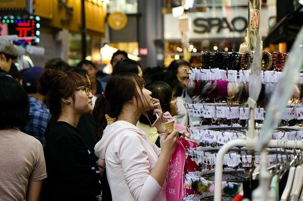 ショッピングで使える韓国語フレーズ