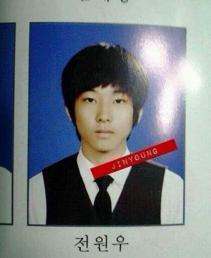 ウォヌの高校生の頃
