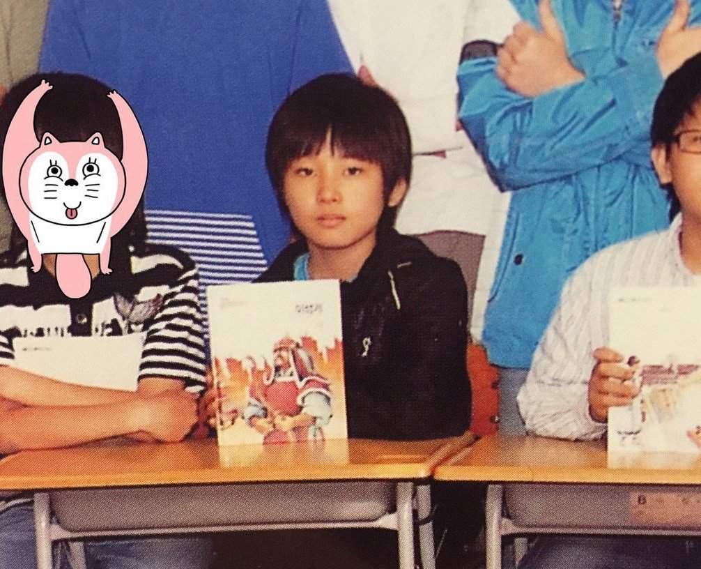 ウォヌの子供の頃の写真