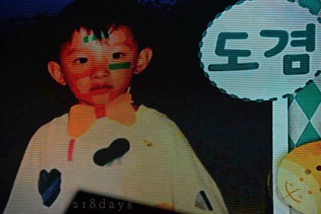 ドギョム(DK)の子供の頃の写真
